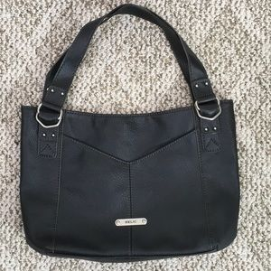 9a68ec97e4 RELIC BY FOSSIL FAUX PEBBLE LEATHER LARGE BAG
